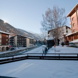 RIVA external view, south – Chez Gaby Zermatt